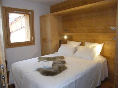 Holiday in mountain resort 5 room triplex chalet 8 people (Landenoire) - Le Hameau de Caseblanche - Saint Martin de Belleville - Double bed
