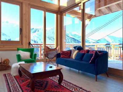 Holiday in mountain resort 5 room triplex chalet 8 people (Pomme de Pin) - Le Hameau de Caseblanche - Saint Martin de Belleville - Table