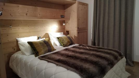Holiday in mountain resort 5 room triplex chalet 8 people (Retrouvailles) - Le Hameau de Caseblanche - Saint Martin de Belleville - Double bed