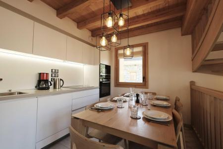 Holiday in mountain resort 5 room triplex chalet 8 people (Retrouvailles) - Le Hameau de Caseblanche - Saint Martin de Belleville - Kitchen