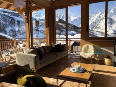 Holiday in mountain resort 5 room triplex chalet 8 people (Retrouvailles) - Le Hameau de Caseblanche - Saint Martin de Belleville - Living room