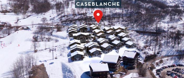 Holiday in mountain resort Le Hameau de Caseblanche - Saint Martin de Belleville