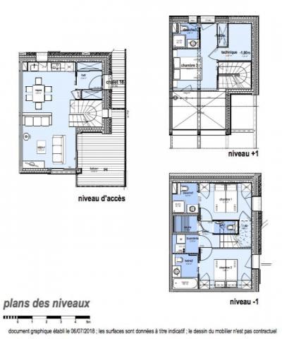 Holiday in mountain resort 4 room apartment 6 people (D18) - Le Hameau de Caseblanche - Saint Martin de Belleville