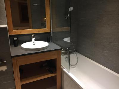Holiday in mountain resort 6 room quadriplex chalet 10 people (Monte Corona) - Le Hameau de Caseblanche - Saint Martin de Belleville - Bath-tub