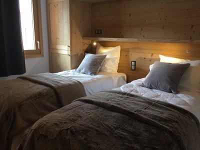 Holiday in mountain resort 6 room quadriplex chalet 10 people (Monte Corona) - Le Hameau de Caseblanche - Saint Martin de Belleville - Bedroom