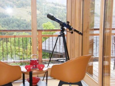 Holiday in mountain resort 6 room quadriplex chalet 10 people (Monte Corona) - Le Hameau de Caseblanche - Saint Martin de Belleville - Living room