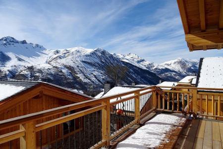 Holiday in mountain resort 6 room triplex chalet 10 people (Peak a Vue) - Le Hameau de Caseblanche - Saint Martin de Belleville - Bedroom