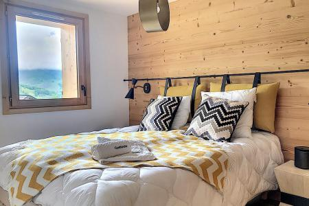 Holiday in mountain resort 6 room triplex chalet 12 people (Ibis Viperae) - Le Hameau de Caseblanche - Saint Martin de Belleville - Bedroom