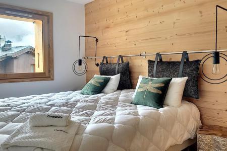 Holiday in mountain resort 6 room triplex chalet 12 people (Ibis Viperae) - Le Hameau de Caseblanche - Saint Martin de Belleville - Double bed
