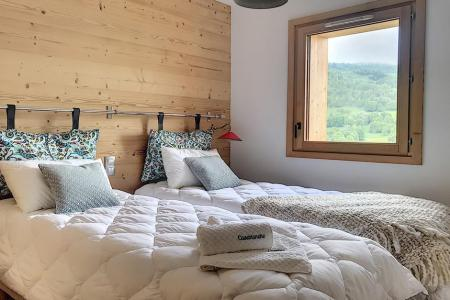 Holiday in mountain resort 6 room triplex chalet 12 people (Ibis Viperae) - Le Hameau de Caseblanche - Saint Martin de Belleville - Single bed