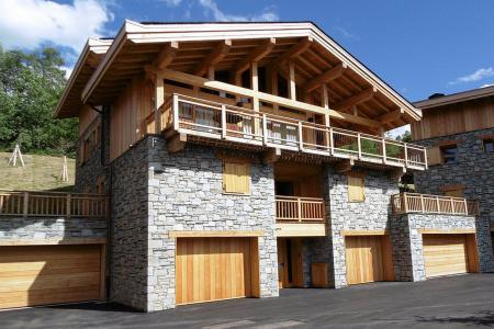 Rent in ski resort 8 room quadriplex chalet 16 people (Becca) - Le Hameau de Caseblanche - Saint Martin de Belleville - Summer outside
