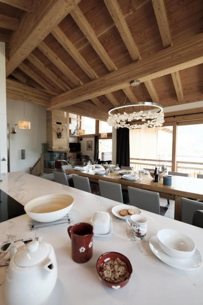 Holiday in mountain resort 8 room triplex chalet 14 people (Cerf d'Or) - Le Hameau de Caseblanche - Saint Martin de Belleville