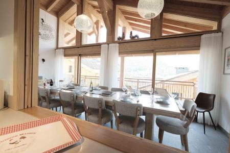 Holiday in mountain resort 8 room quadriplex chalet 14 people (Allium) - Le Hameau de Caseblanche - Saint Martin de Belleville