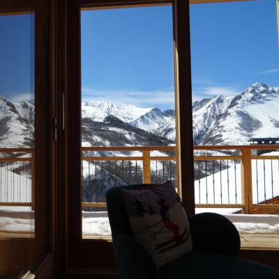 Holiday in mountain resort 7 room duplex chalet 12 people (Bouc Blanc) - Le Hameau de Caseblanche - Saint Martin de Belleville