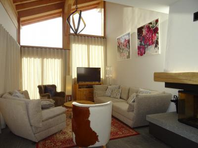 Holiday in mountain resort 7 room triplex chalet 12 people (Myriel) - Le Hameau de Caseblanche - Saint Martin de Belleville