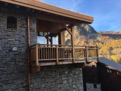 Rent in ski resort 6 room quadriplex chalet 10 people (Monte Corona) - Le Hameau de Caseblanche - Saint Martin de Belleville - Summer outside