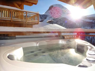 Holiday in mountain resort 4 room triplex chalet 6 people (Aigle) - Le Hameau de Caseblanche - Saint Martin de Belleville