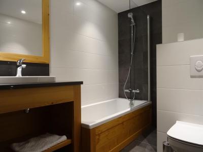 Holiday in mountain resort 7 room duplex chalet 12 people (Bouc Blanc) - Le Hameau de Caseblanche - Saint Martin de Belleville - Bath-tub