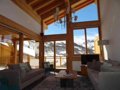 Holiday in mountain resort 7 room duplex chalet 12 people (Bouc Blanc) - Le Hameau de Caseblanche - Saint Martin de Belleville - Bench seat