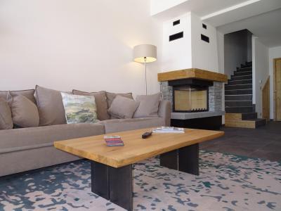 Holiday in mountain resort 7 room duplex chalet 12 people (Bouc Blanc) - Le Hameau de Caseblanche - Saint Martin de Belleville - Fireplace