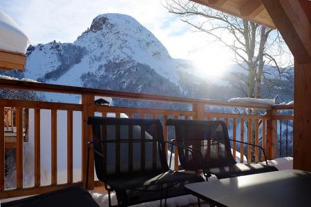 Holiday in mountain resort 7 room triplex chalet 14 people (Haleakala) - Le Hameau de Caseblanche - Saint Martin de Belleville - Terrace