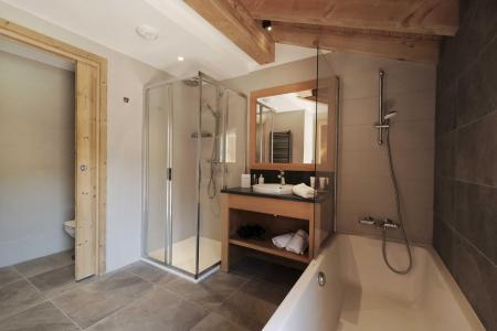 Holiday in mountain resort 8 room quadriplex chalet 14 people (Allium) - Le Hameau de Caseblanche - Saint Martin de Belleville - Bath-tub