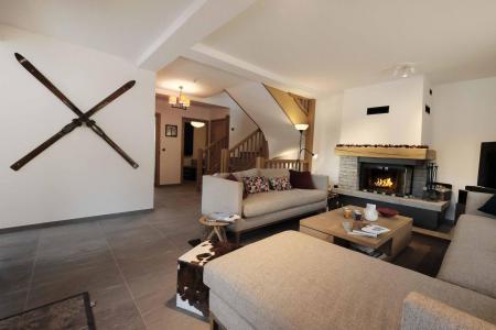 Holiday in mountain resort 8 room quadriplex chalet 14 people (Allium) - Le Hameau de Caseblanche - Saint Martin de Belleville - Living room