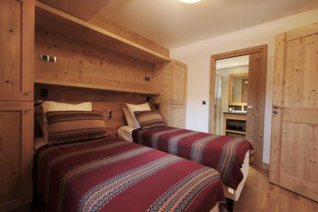 Holiday in mountain resort 8 room quadriplex chalet 14 people (Allium) - Le Hameau de Caseblanche - Saint Martin de Belleville - Single bed