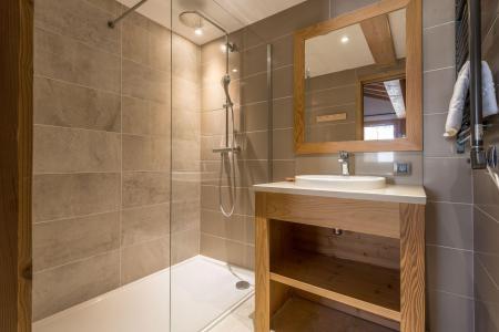 Holiday in mountain resort 8 room quadriplex chalet 14 people (Chanterella) - Le Hameau de Caseblanche - Saint Martin de Belleville - Shower