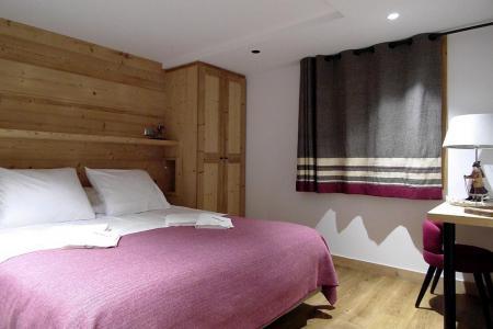Holiday in mountain resort 8 room quadriplex chalet 16 people (Becca) - Le Hameau de Caseblanche - Saint Martin de Belleville - Double bed