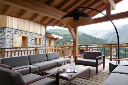 Holiday in mountain resort 8 room quadriplex chalet 16 people (Becca) - Le Hameau de Caseblanche - Saint Martin de Belleville - Terrace