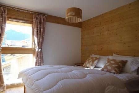 Holiday in mountain resort 8 room triplex chalet 14 people (Cerf d'Or) - Le Hameau de Caseblanche - Saint Martin de Belleville - Double bed