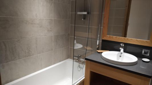 Holiday in mountain resort 8 room triplex chalet 16 people (Litote) - Le Hameau de Caseblanche - Saint Martin de Belleville - Bath-tub