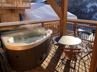 Holiday in mountain resort 4 room triplex chalet 6 people (Aigle) - Le Hameau de Caseblanche - Saint Martin de Belleville - Jacuzzi