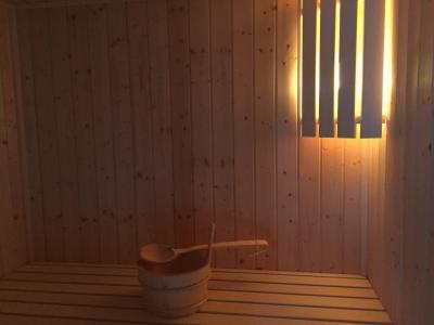 Holiday in mountain resort 7 room triplex chalet 12 people (Tawny) - Le Hameau de Caseblanche - Saint Martin de Belleville - Sauna