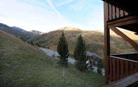 Location Les Menuires : Le Hameau de la Sapinière - Chalet Cembro été