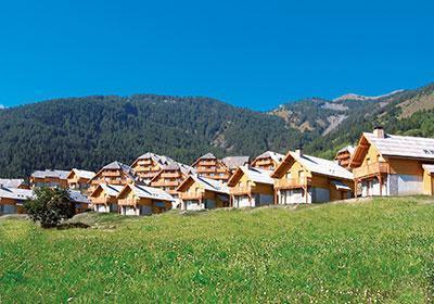 Location au ski Le Hameau De Praroustan - Pra Loup - Extérieur été