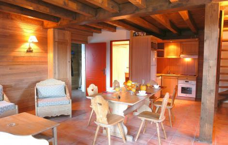 Vacances en montagne Le Hameau de Praroustan - Pra Loup - Table