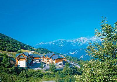 Location au ski Le Hameau De Saint Francois - Saint-François Longchamp - Extérieur été