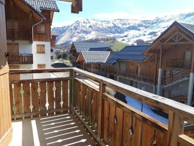 Wakacje w górach Apartament 2 pokojowy z alkową 4 osoby (B111) - Le Hameau des Aiguilles - Albiez Montrond - Łóżkami piętrowymi