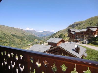 Location au ski Appartement 5 pièces 9 personnes (10) - Le Hameau Des Marmottes - Les Menuires - Extérieur été