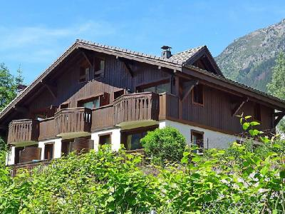 Rent in ski resort 3 room apartment 4 people (1) - Le Krystor - Chamonix - Summer outside