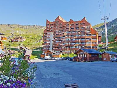 Rent in ski resort 2 room apartment 6 people (2) - Le Lac du Lou - Val Thorens - Summer outside