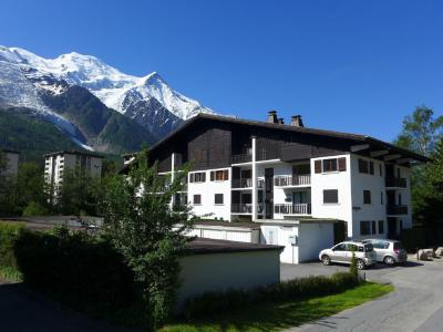 Rent in ski resort 1 room apartment 4 people (1) - Le Miage - Chamonix - Summer outside