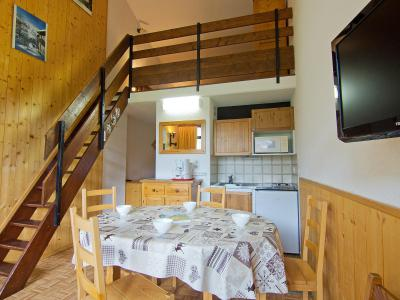 Rent in ski resort 2 room apartment 6 people (32) - Les Asters - Les Menuires - Summer outside