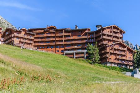 Location au ski Les Balcons de Belle Plagne - La Plagne - Extérieur été