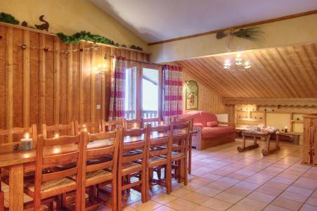 Urlaub in den Bergen Les Balcons de Belle Plagne - La Plagne - Esszimmer