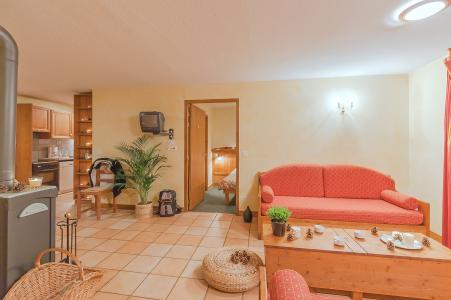 Holiday in mountain resort Les Balcons de Belle Plagne - La Plagne - Living area