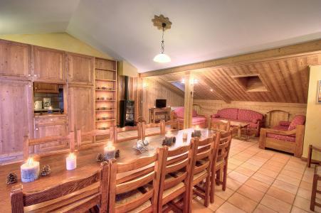 Holiday in mountain resort Les Balcons de Belle Plagne - La Plagne - Living room
