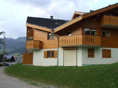 Location au ski Les Balcons de Châtel - Châtel - Extérieur été